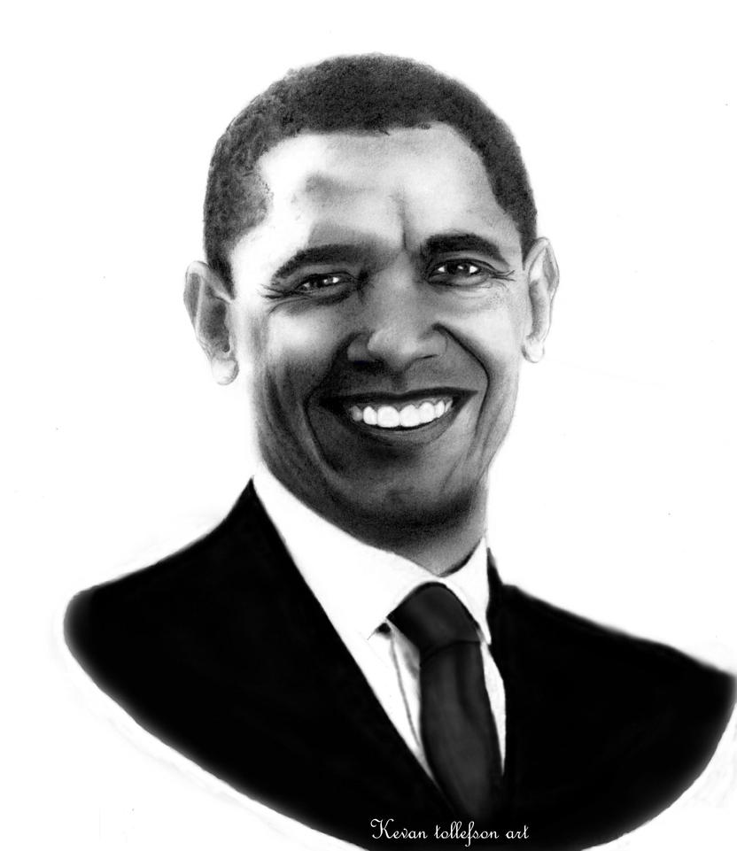 Presidential Obama by toolyman