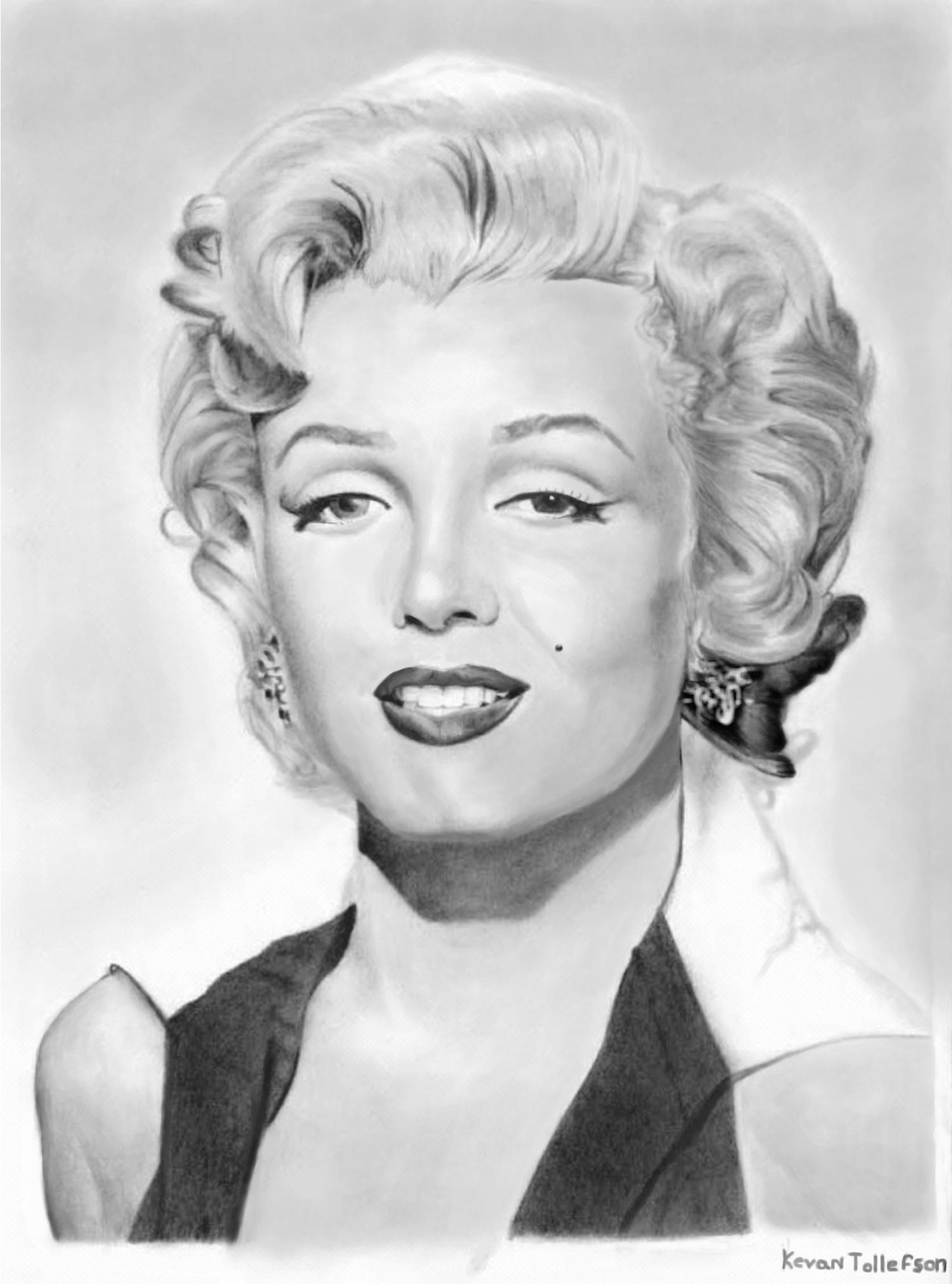 Marilyn-everlasting smile by toolyman