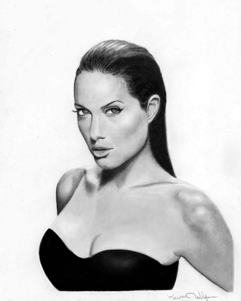 Angelina Jolie by toolyman