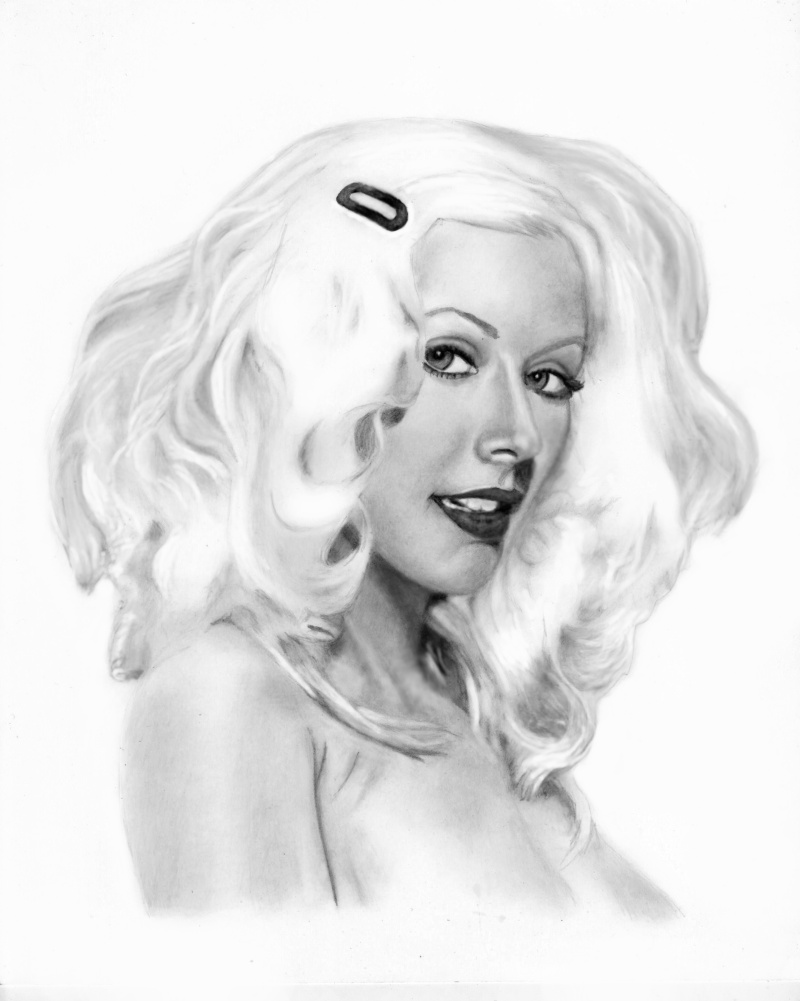 CHRISTINA AGUILERA by toolyman