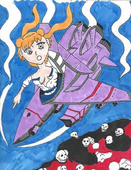 Going down Irezumi Manga Art