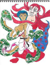 Trapped Jiu Jitsu Anime Irezumi Tattoo Japan