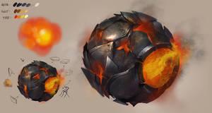 Metal Rust Ball