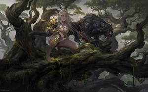 Jungle Hunter by DongjunLu