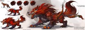 Fox Creature Design