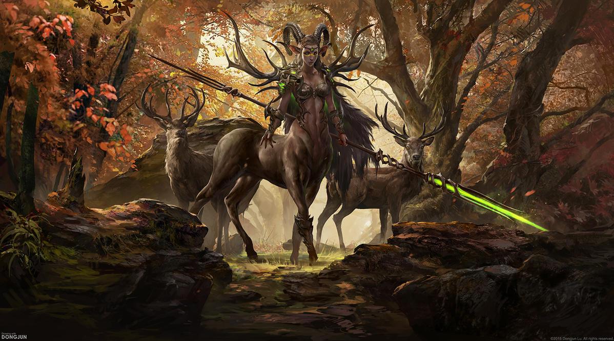Deer Queen by DongjunLu