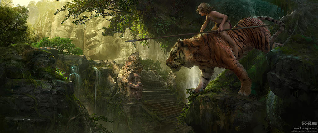 Jungle Boy_Mowgli by DongjunLu
