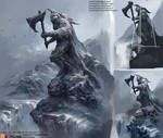 Lesson10_Freezing Study_Knight Statue