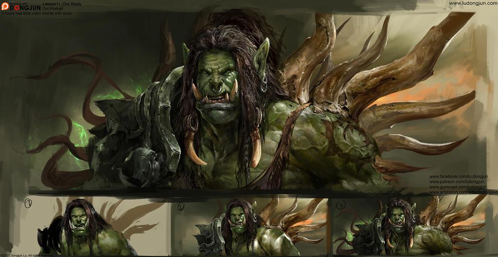 Lesson11 Orc Portrait
