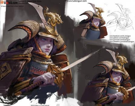 Lesson12_Samurai Girl