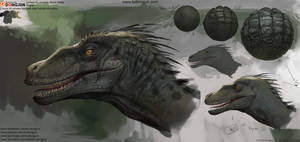 Lesson15_Jurassic World Study_Raptor Head