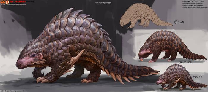 2017Lesson02 Scaled Creature