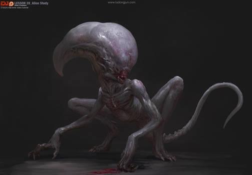 Lesson28 Alien Creature Arrange small