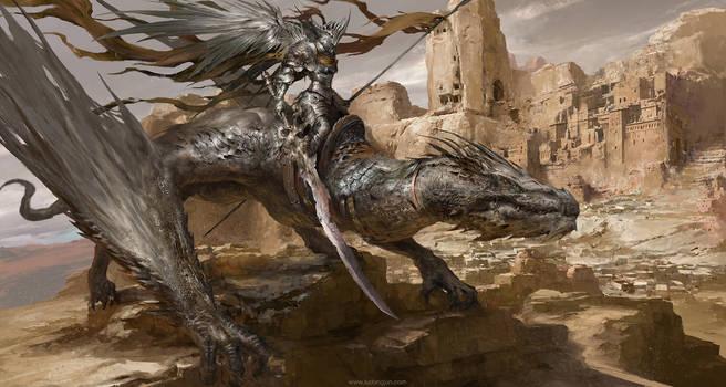 Desert Dragon Knight