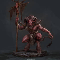 2018Lesson04_Satyr_3Dto2D by DongjunLu