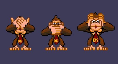 c4e2909c4 3 Wise Monkeys by ClassicGamer84 on DeviantArt