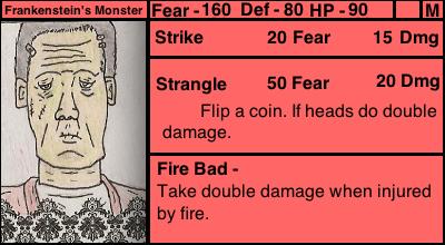 Frankenstein's Monster (Monster Madness Card) by Zabukasha