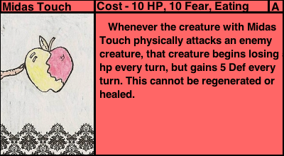 Midas Touch (Monster Madness Card) by Zabukasha