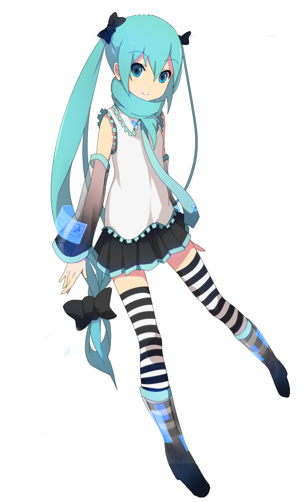 Renders Pokémon & Vocaloid Render_miku_k_on_style_by_kittyprincess08-d4a60q3