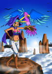 Shantae - sky and wrench