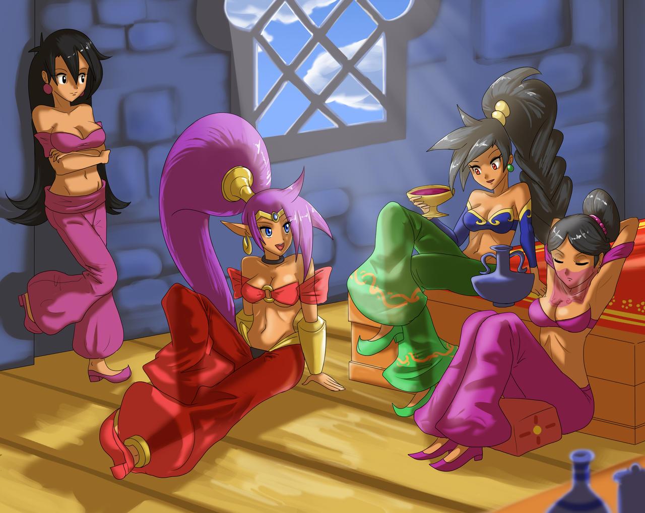 Shantae - Dancer parlor