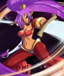 Shantae - sword dancer
