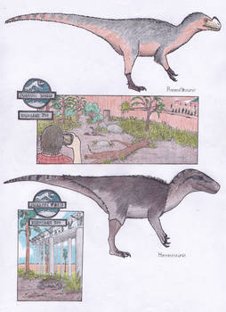 Dinosaur Zoo: Our predators