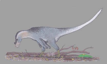 The omnivorous raptor by Dontknowwhattodraw94