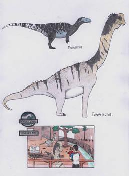 Dinosaur Zoo: Mini sauropods