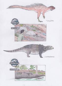 Dinosaur Zoo: Porcupines and mini tanks