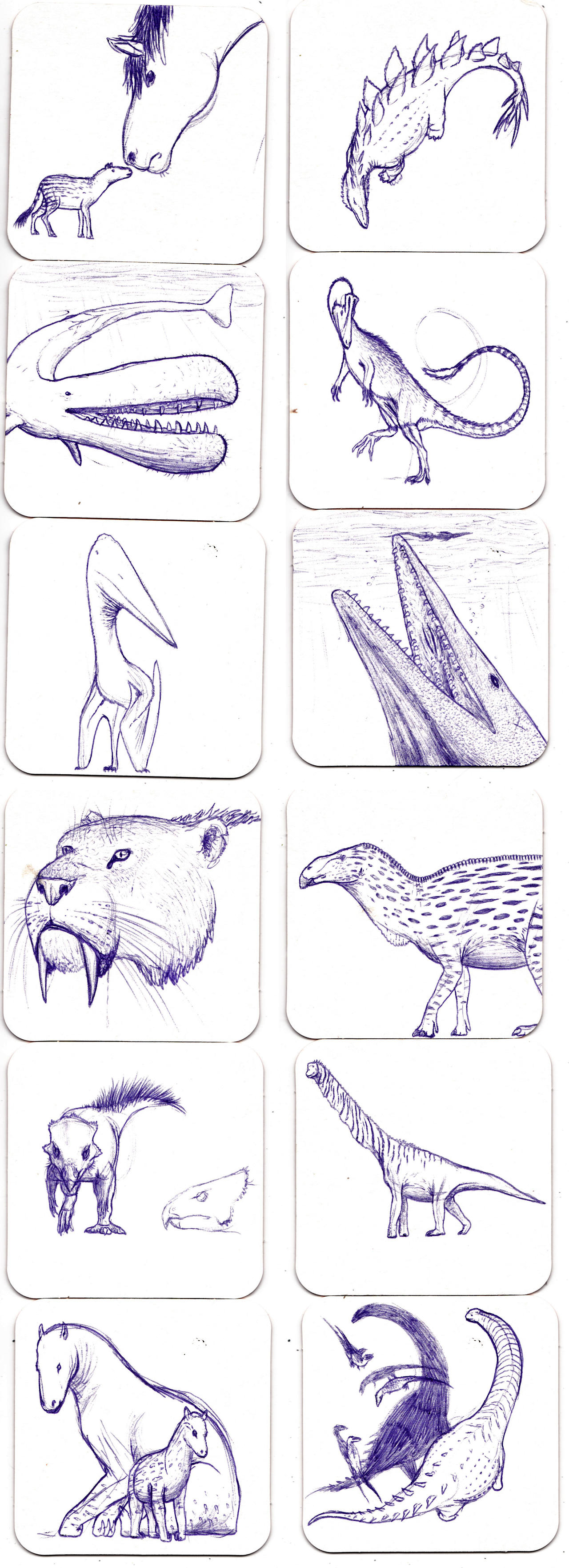Beer mat sketches by Dontknowwhattodraw94