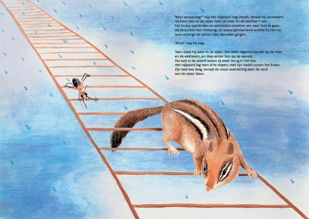 Down the ladder by Dontknowwhattodraw94