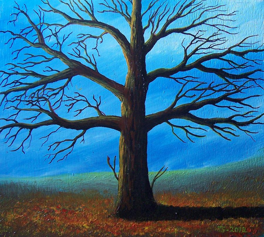Autumn Oak by 3Drake9