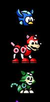 MegaMan 'Sprites'-Wonder Pets