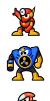 MegaMan 'Sprites'-Bosses of 2