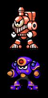 MegaMan 'Sprites'-Bosses of 5