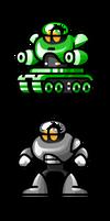 MegaMan 'Sprites'-Dork Men
