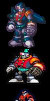 MegaMan ''Sprites''-The Dynamic Duo