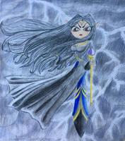 Galila the nightmareness goddess by kingchristine
