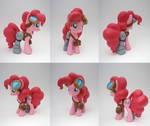 Steampunk Pinkie Pie by ceramicpony