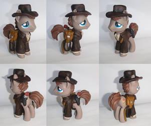 Indiana Pones Custom Indiana Jones Pony by ceramicpony