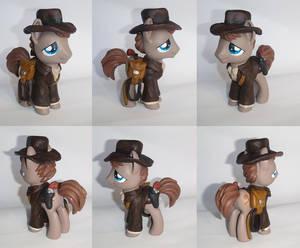 Indiana Pones Custom Indiana Jones Pony