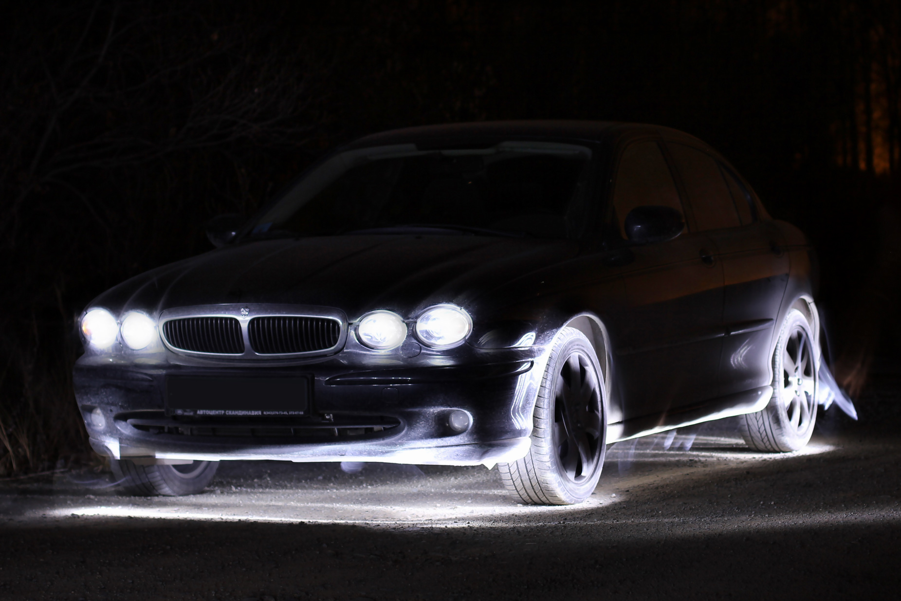 Fabia Light - Jaguar x-type by Fil3D