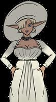 Eriza Lady D Cosplay