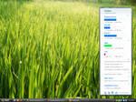 My desktop Samurize Sidebar