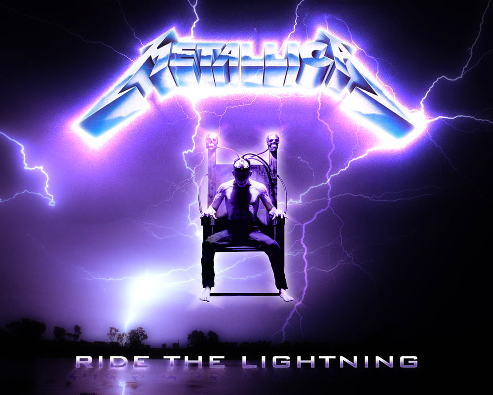 Metallica Ride The Lightning by Nextgenify on DeviantArt