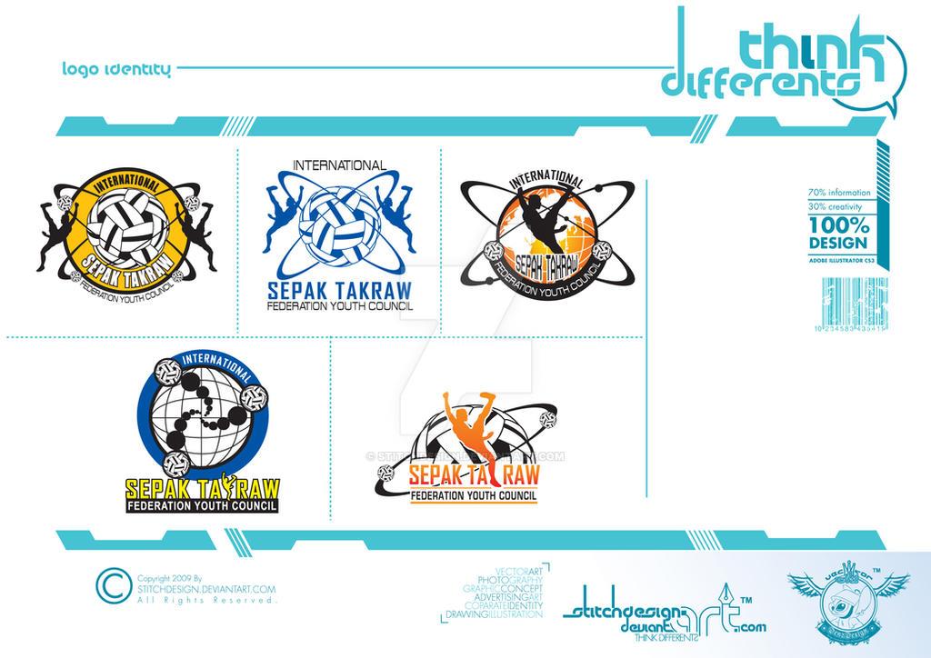 logo sepak takraw by stitchDESIGN