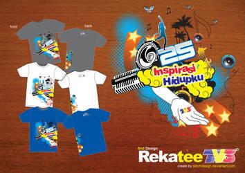 RekaTee TV3 volume 05 by stitchDESIGN