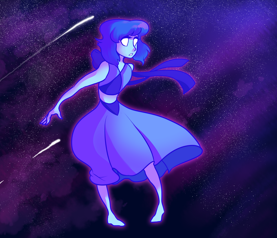I really can't decide on a type of art style that I enjoy drawing with most ^-^;  But hey now I can experiment on my favorite blue alien! Other Steven Universe things: fav.me/d8vco3x fav.me/d8...