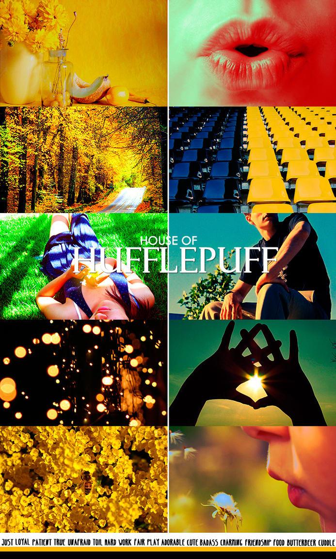 Hufflepuff ASTHETIC No.1 by MiyukiUchiha